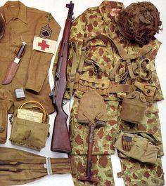 uniformes segunda guerra - Buscar con Google