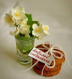Сладкий сюрприз своими руками, цветы, печенье, натюрморт