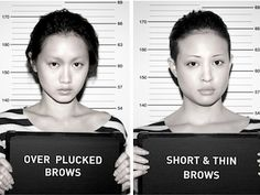 Don't Fall Victim to Bad Brows Eyebrow Trends, Make Me Up, Beauty Hacks, Beauty Tips, Get The Look, Hair Hacks, Eyebrows, Salons, Fashion Beauty