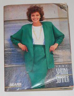 1987 SEARS Spring/ Summer Catalog - Retro Fashions Electronics Computers   eBay