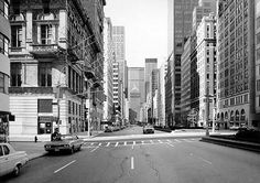 Thomas Struth Video Photography, White Photography, Landscape Photography, Architectural Photography, City Landscape, Urban Landscape, New York Street, New York City, Art Projects For Adults
