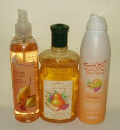 Pearberry Body Splash, Shower Gel, Foam Body Wash