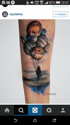 Planeten tattoo