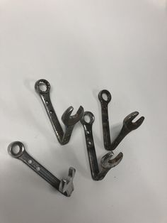 Wrench coat hooks A Hook, Coat Hooks, Garage Ideas, Projects To Try, Clothes Racks