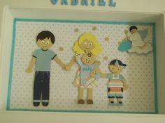 Paper Lis: Porta de Maternidade - Punch art