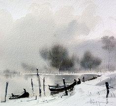 Corneliu Drăgan Târgovişte, Romanian watercolorist