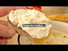 How to make a delicious and creamy Greek Whipped Feta (Tyrosalata), with step by step instructions and serving ideas Best Mediterranean Food, Mediterranean Appetizers, Yummy Appetizers, Appetizer Recipes, Snack Recipes, Snacks, Turkish Recipes, Greek Recipes, Grilling Recipes