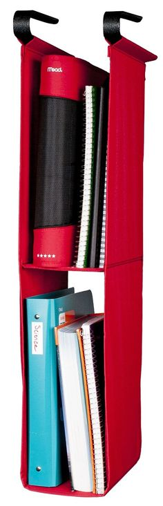 Create more space in a narrow locker by using the Five Star Hanging Locker Shelf.