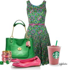 """Starbucks Contest"" by angkclaxton ❤ liked on Polyvore"