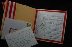 teacher bridal shower invitation - adorable!