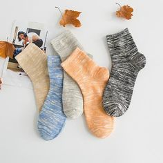 Cheap fashion men socks, Buy Quality mens fashion socks directly from China men socks Suppliers: Fashion New Arrival High Quality Men's Autumn And Winter Style Men Sock Cotton Pure Color Casual Breathable Sock Fashion Socks, Mens Fashion, Buy 1, Cool Designs, Winter Fashion, Stockings, Autumn, Pure Products, Socks Men