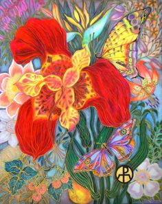 "atelier1022: ""Garden of Eden"" kresba Ellie Perla z ATELIER 1022 dělal kryt Lead Magazine, Miami Beach 05. 2011"