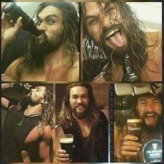 This man is just perfect ^^ (No offense to you gorgeous dudes on this page! I just like Jason Momoa) Hot Men, Sexy Men, Hot Guys, Gorgeous Men, Beautiful People, Jason Momoa Aquaman, Lisa Bonet, My Sun And Stars, Khal Drogo
