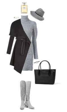 """""""fhutrstic"""" by sibelmisss on Polyvore featuring moda, Halston Heritage, Lala Berlin, BCBGeneration, Kathy Jeanne, Accessorize ve Chanel"""
