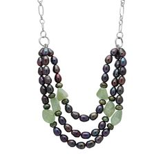 Freshwater Pearl Bib Necklace. Gift Box At www.theshopping.com by Pearl Luster. $ 94.98