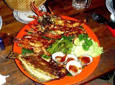 Jimbaran Seafood @Jimbaran Jingga restaurants - Bali - good memory!