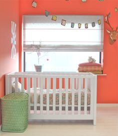 Bibelotte nursery - mint and tangerine