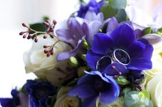 My favourite flowers. Freesias, Anemones and Roses