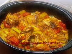 Cookbook Recipes, Cooking Recipes, Greek Recipes, Curry, Meals, Chicken, Ethnic Recipes, Food, Curries