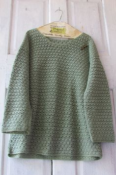 Vintage crochet sweater hand made sea by YimmekesVintageFinds