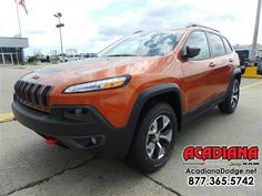 #jeep #trailhawk #cherokee #smallsuv #financing #getapproved #testdrive #autosales #acadiana #usedcars