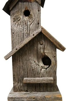 Rays Birdhouses made from Reclaimed Barn Materials #woodenbirdhouses