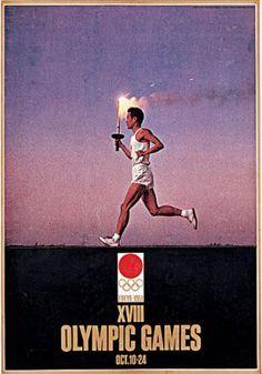 Tokyo 1964 Olympics. Artist: Yusaku Kamekura (1915-1997)