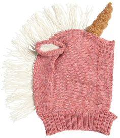 Unicorn Baby Alpaca Tricot Hat