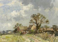 Edward Seago | A Norfolk Farm