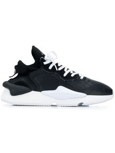 Kaiwa Black And White Leather And Neoprene Sneaker Fashion Shoes, Mens Fashion, Yohji Yamamoto, Nike Huarache, Innovation Design, Sportswear Brand, White Leather, Fashion Forward, Women Wear