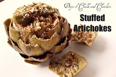 Artichoke Preparation and Stuffing
