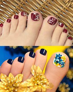 Pink Toe Nails, Cute Toe Nails, Pink Toes, Feet Nails, Bling Nails, Feet Nail Design, Toe Nail Designs, Pedicure Nail Art, Toe Nail Art