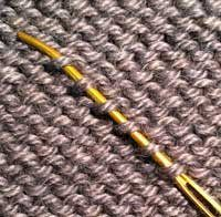 Knitting Techniques: How to weave in ends - Knitting Daily - Blogs - Knitting Daily