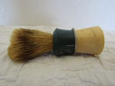 Shaving Brush Ever Ready Vintage Item by rarefinds4u on Etsy Vintage Items, Vintage Jewelry, Brown Beige, Gray, Boar Bristle, Old Lights, Shaving Brush, Lace Doilies, Blue Ivory