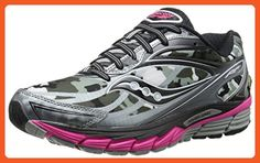 Saucony Women's Ride 8 Gtx Running Shoe,White/Black/Pink,7 M US - Athletic shoes for women (*Amazon Partner-Link)