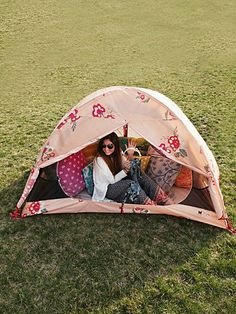 Free People Alite x Free People Tent  A rosy tent to carry wherever you roam.  168.00