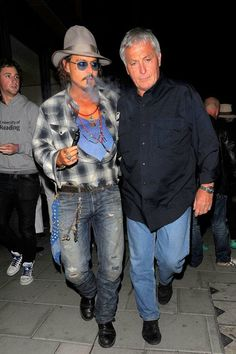 Johnny Depp's got his e-cig. Where's yours? Get yours today at deluxecig.com