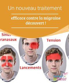 Un nouveau traitement efficace contre la #migraine découvert !   Vous souffrez souvent de migraines ? #Bonne nouvelle : un nouveau #traitement #efficace contre la migraine a été découvert. Venez en savoir plus !