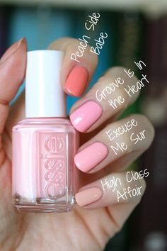 Essie Spring 2017 Baha Moment Collection : Review, Swatches Comparisons | Essie Envy