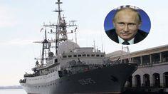Un barco espía ruso fue detectado frente a la costa de Estados Unidos