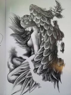 Take pleasure in the tattoo design you select. Before you pick your angel tattoo design, be sure you learn all the various designs and meanings. Most angel tattoo designs include things like shading and detail. Dream Tattoos, Badass Tattoos, Time Tattoos, Hand Tattoos, Body Art Tattoos, Sleeve Tattoos, Skull Tattoos, Japanese Tattoo Designs, Flower Tattoo Designs