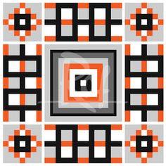 Hama gifts: Clock pattern design