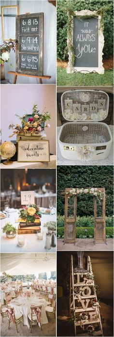 21 Shabby Chic Vintage Wedding Ideas You Cannot Resist!