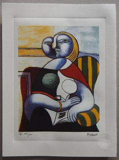 Pablo Picasso Special Edition Print  by ValueVintagePrints on Etsy