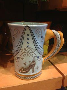 DisneyLifestylers – New Disney Princess + Villains Mug Collection Cinderella mug