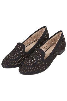 Photo 3 of MISTY Laser-Cut Slipper Shoes