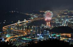 Busan Fireworks Festival    Busan, South Korea