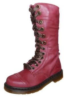 c96ace222bf TRIUMPH - Lace-up boots - cherry red   Zalando.co.uk 🛒. Dr MartinsWomen s  ...