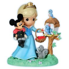 """Let your heart dream of friendship"" Sleeping Beauty Precious Moments figure. Purchase it here for $29.99."