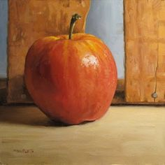 Apple with Antique Crate by Michael Naples
